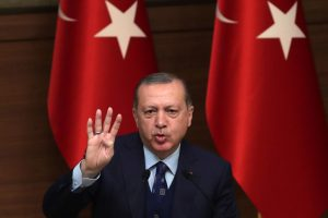 R. T. Erdoganas: Turkijos pajėgos perėmė Afrino miesto Sirijoje kontrolę
