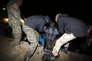 Prie Libijos krantų apvirtus migrantų laivui veikiausiai žuvo apie 90 žmonių