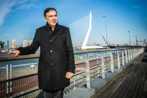 M. Saakašvilis nori jau šiemet grįžti į valdžią Gruzijoje