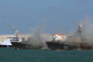 Baltijos jūroje – Rusijos karinių raketų bandymai