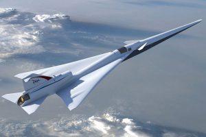 NASA kuria tyliai skrendantį viršgarsinį lėktuvą