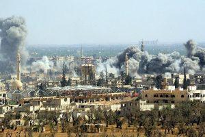 PSO: per cheminę ataką Sirijoje nukentėjo apie 500 žmonių