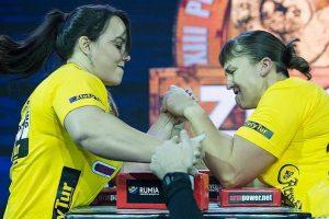 E. Vaitkutė – pasaulio rankų lenkimo čempionė