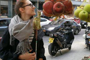 I. Zasimauskaitės mityba Izraelyje: nuo ypatingo virėjo iki gelbstinčio taksisto