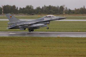 Belgai perima NATO oro policijos misiją Lietuvoje