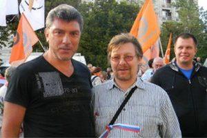 Mirė užpultas Rusijos opozicijos aktyvistas A. Stroganovas
