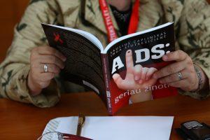 Gydytoja: sergantys AIDS gali gyventi visavertį gyvenimą
