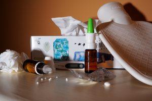 Sergamumas gripu ir peršalimo ligomis auga ketvirtą savaitę iš eilės