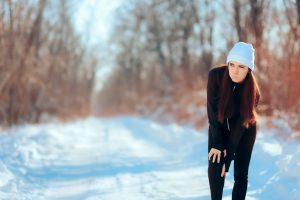 Šaltis stingdo sąnarius, ypač nejudrius