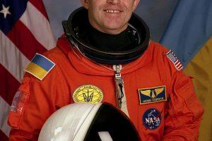 Mirė pirmasis nepriklausomos Ukrainos astronautas