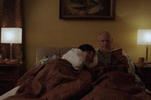 L. Kalpokaitė – lovoje su L. Laucevičiumi
