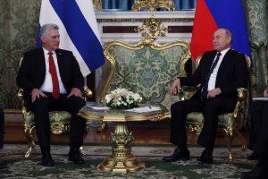 Rusija ir Kuba ragina JAV dar kartą susimąstyti dėl branduolinės sutarties