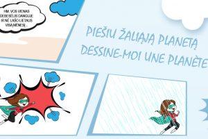 Moksleiviai kviečiami dalyvauti prancūziškų komiksų konkurse