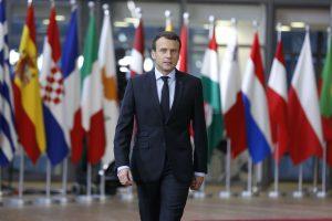 ES lyderiai pasidalijo į stovyklas dėl E. Macrono pasiūlytos euro zonos pertvarkos