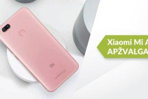 """Xiaomi Mi A1"" meta iššūkį ""iPhone"": ar ne per drąsu? (apžvalga)"