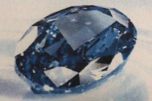 Pavogtas retas 20 mln. dolerių vertės mėlynasis deimantas – pagaliau surastas