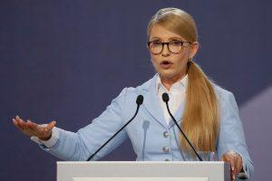 Apklausa: populiariausias kandidatas į Ukrainos prezidentus – J. Tymošenko