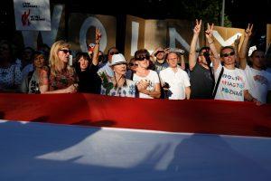 Lenkijos Senatas pritarė Aukščiausiojo Teismo pakeitimams