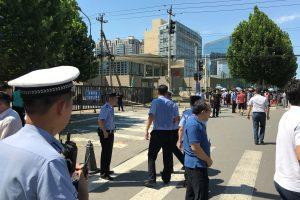 Netoli JAV ambasados Pekine nugriaudėjo sprogimas