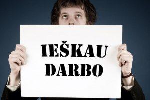 Nedarbas Lietuvoje mažesnis nei prieš metus