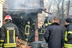 Utenos rajone per gaisrą žuvo žmogus