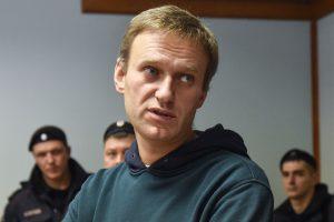 Rusijos opozicijos lyderis A. Navalnas: man neleista išvykti į užsienį
