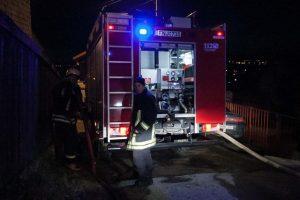 Šiaulių rajone degė gyvenamasis namas