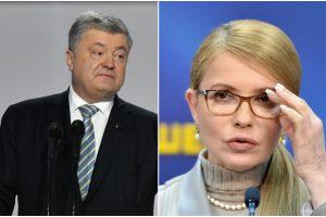 J. Tymošenko siekia Ukrainos prezidento P. Porošenkos apkaltos
