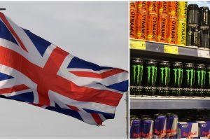 Jungtinės Karalystės draudimas: vaikams neparduos energinių gėrimų?