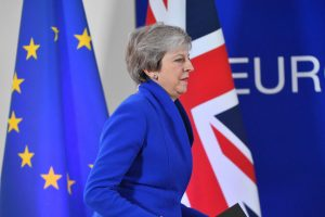 """Naujos """"Brexit"""" derybos Briuselyje vyks kitą savaitę"""