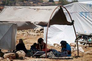 Dėl kovų Pietų Sirijoje savo namus paliko 45 tūkst. žmonių