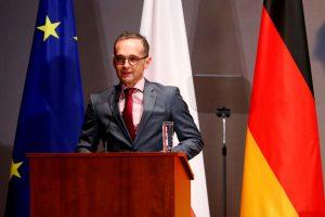 Vokietijos užsienio reikalų ministras dėl lėktuvo gedimo įstrigo Malyje