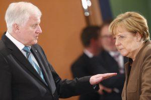 Grėsmė vyriausybei: Vokietijos koalicijos partnerių ginče nematyti kompromiso požymių