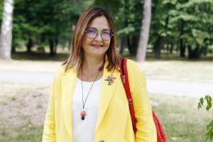 Patarėja E. Mantulova laukia naujo universiteto rektoriaus