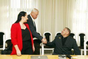 V. Grubliauskas apie neįgaliuosius: Klaipėdoje trūksta žmogiškumo