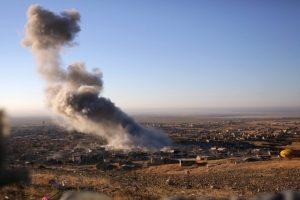 Irake sudužus JAV vadovaujamos koalicijos orlaiviui žuvo vienas karys