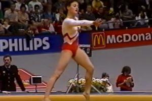 Netikėtai mirė 50-mečio nesulaukusi gimnastikos olimpinė čempionė J. Šušunova