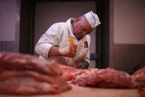 Mėsininkai prašo policijos apsaugos nuo veganų