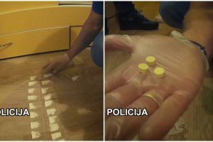 Klaipėdoje baigta kokainą, metamfetaminą ir kanapes platinusio vyro byla