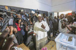 Senegalo prezidentas perrinktas antrai kadencijai