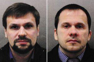 Skripalių apnuodijimu įtariami vyrai: mes buvome tik turistai