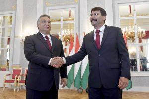 Vengrijos prezidentas paprašė V. Orbano suformuoti vyriausybę
