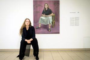 M. Plentauskaitė: tapytojos autoportretas – gyvenimo ir kūrybos etapai