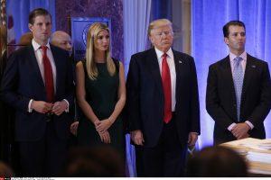 D. Trumpo sūnus papasakojo apie grasinimus šeimai