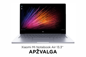 "Nešiojamas kompiuteris ""Xiaomi Mi Notebook Air 13.3"" – ""MacBook Air"" klonas?"