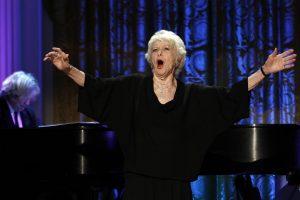 Brodvėjus neteko garsios aktorės bei dainininkės E. Stritch