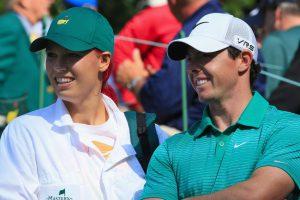 Golfo žvaigždė R. McIlroy nutraukė sužadėtuves su tenisininke C. Wozniacki