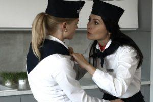 Iššūkis aktorei A. Grudytei: jaudinanti scena su moterimi