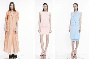 K. Rimdžiaus pavasario – vasaros 2014 suknelių kolekcija