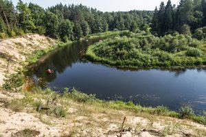 Lietūs papildė nusekusias Lietuvos upes